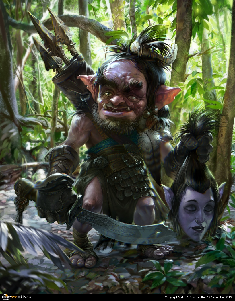 3d goblin pic evil porn toons