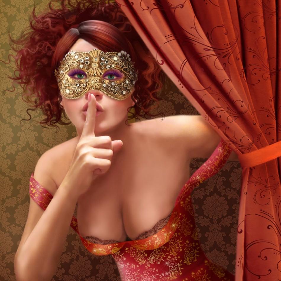Masquerade pussy pics sex comics