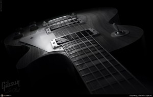 Black And White Les Paul