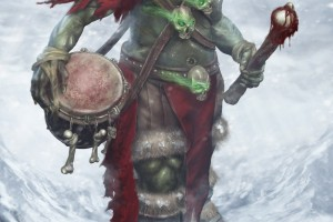 Orc Drummer