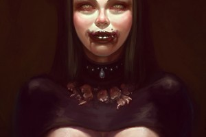 Portrait In Michael Hussar''s Style