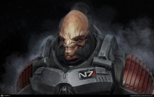 Mass Effect Challenge Character Face