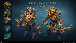 Guardian Of Crypts Set For Clinkz