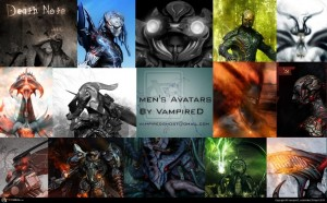 Men''s Avatars By Vampired