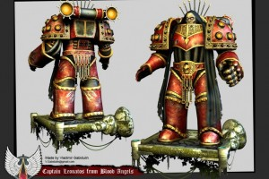 Warhammer 40k Captain Leonatos From Blood Angels