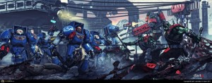 Ultramarines Vs Orcs