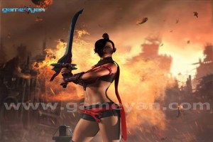 EVE - Lady Warrior By GameYan 3D Animation Studio